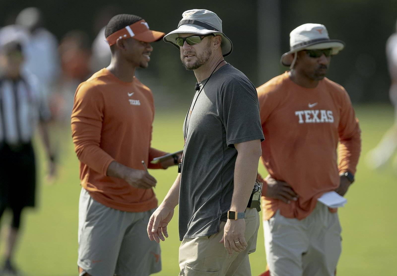 Tom Herman, on Texas' pass defense: 'We are what our stats say we are'