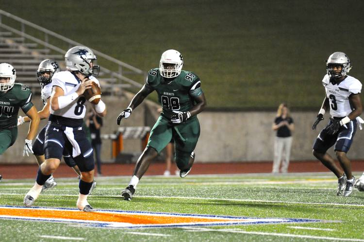 The Dotted Line Commitment Qa With Huntsville Defensive End T
