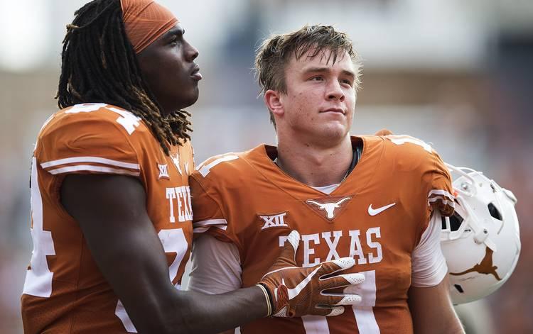 Golden An Overworked Sam Ehlinger Is Bad For Business Texas Hookem Com