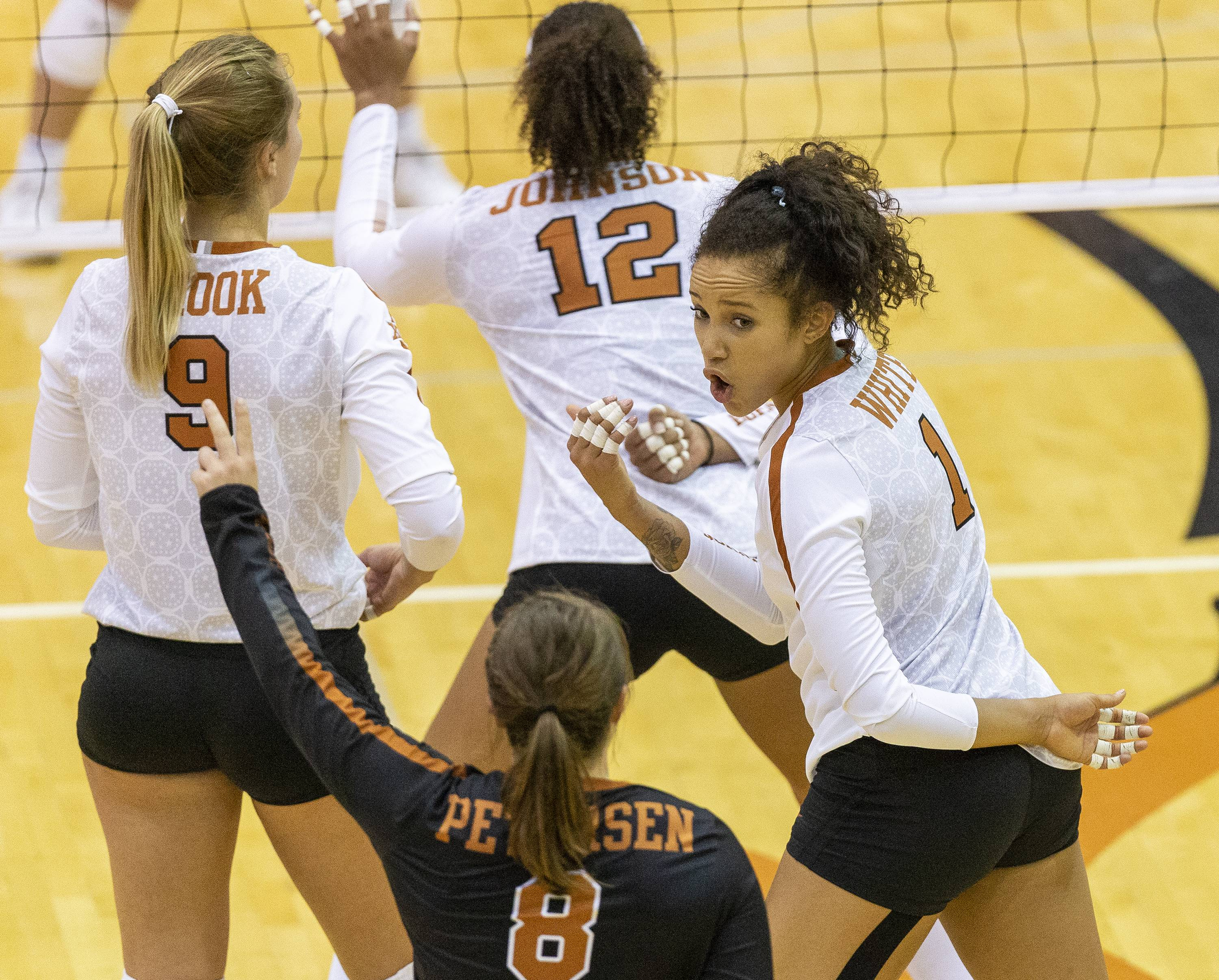 Texas heads into the final week of non-conference play with a firm grip on its No. 3 ranking