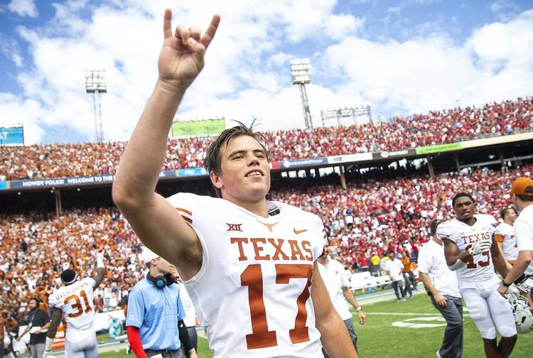 f071bd39997e WATCH  Texas freshman Cameron Dicker kicks 40-yard field goal to beat  Oklahoma