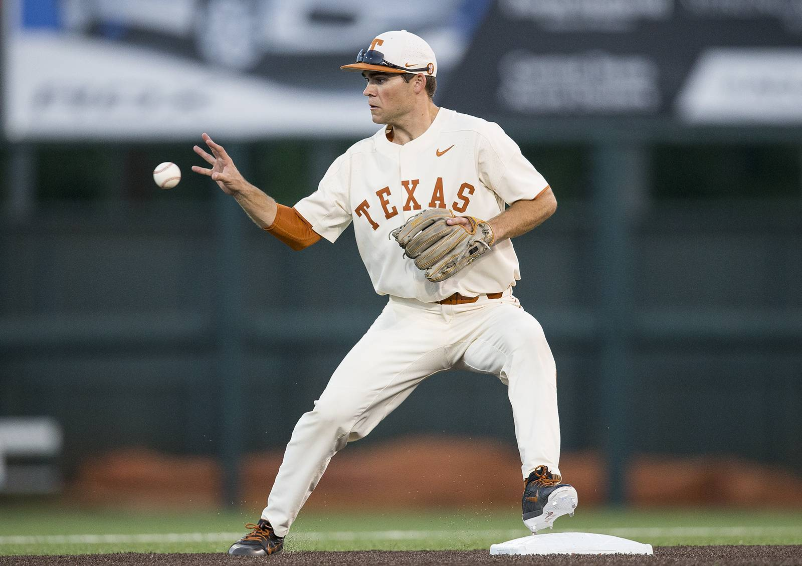 jake mckenzie, texas' 'ultimate utility guy,' plays all nine
