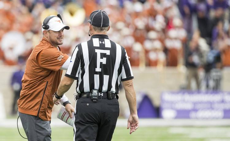 Follow Live Texas Coach Tom Herman Holds Press Conference Before Ut