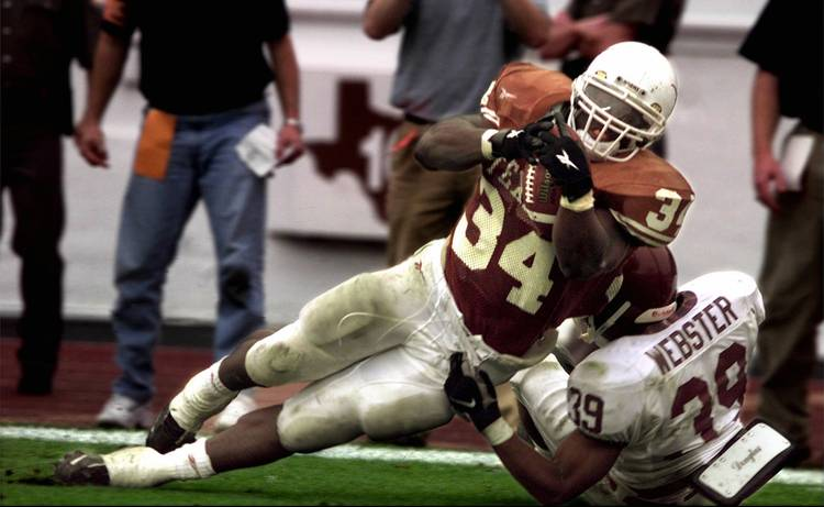 Daily longhorn football history the 1998 season hookem com
