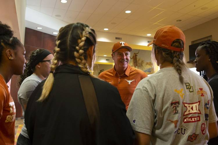 9ee3a1d1d6e9b0 Weather pushes the start of Texas  softball season back to Saturday ...