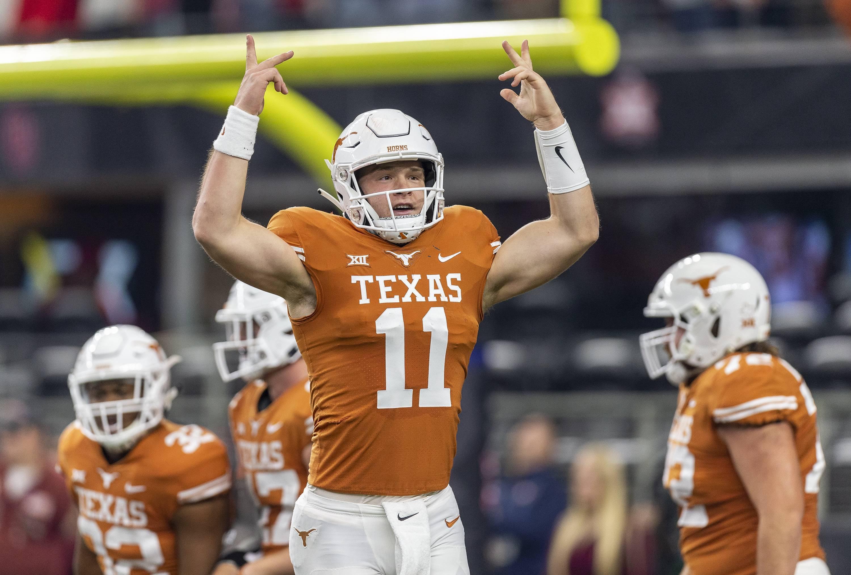 Tom Herman on Mayfield, Bradshaw's comments bashing Texas QB Sam Ehlinger: 'It's irrelevant'