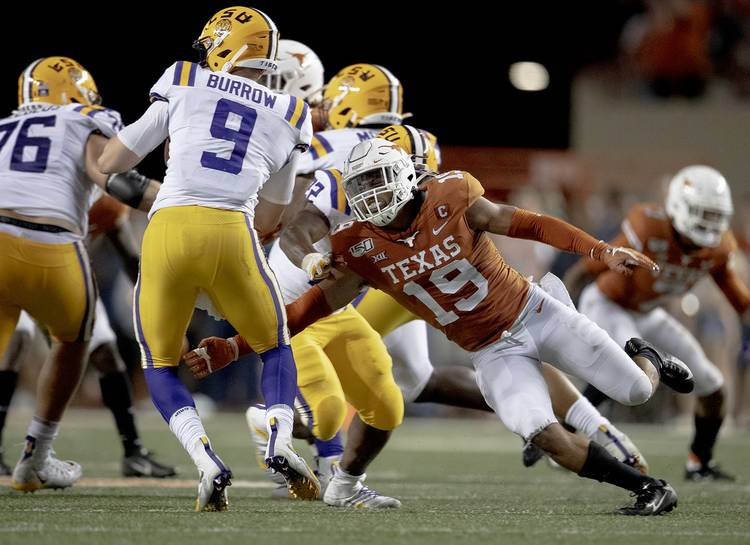 Texas' Brandon Jones on the Miami Dolphins: 'I'm just excited to ...