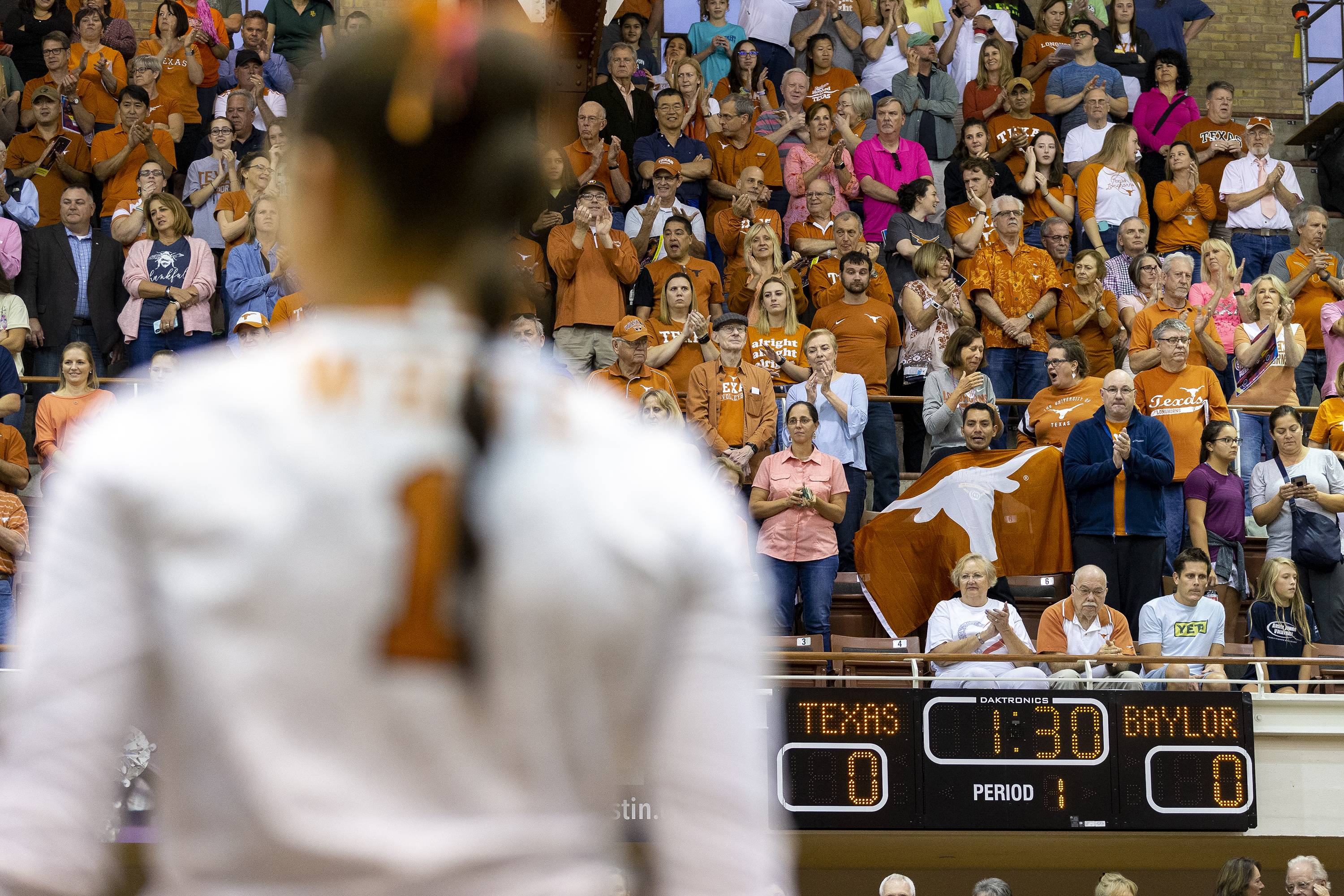 Texas senior Micaya White closes out her last regular season with another Big 12 honor