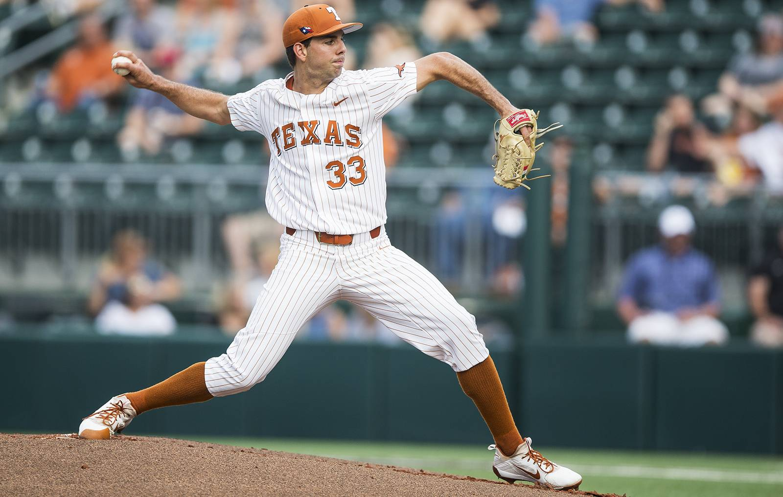 with the college world series on the line, texas to start matteo
