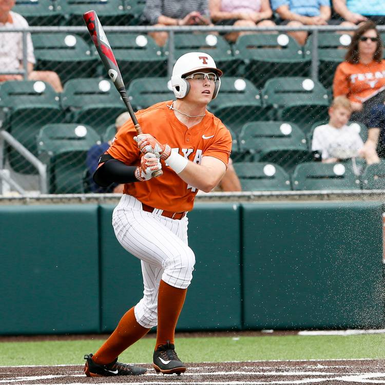 new style f233f ff598 Texas baseball team avoids sweep with extra-innings win ...