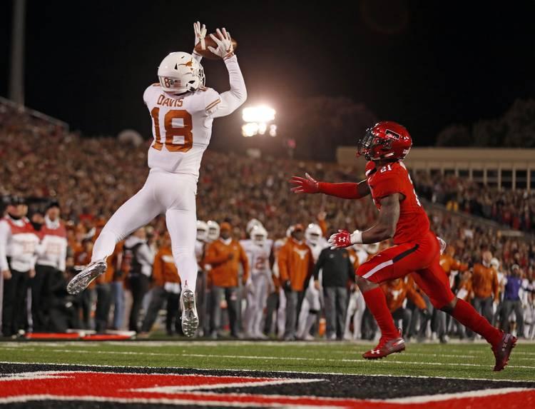 Big defensive play jolts Texas awake