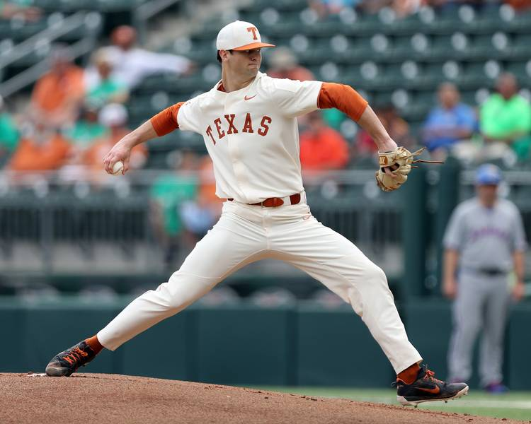business as usual for texas pitchers as longhorns blank kansas