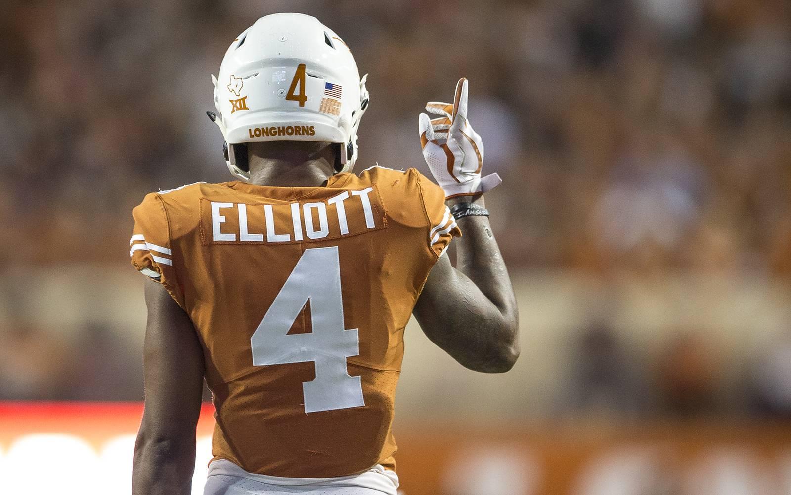 DeShon Elliott apparently suffers fractured forearm | Hookem.com