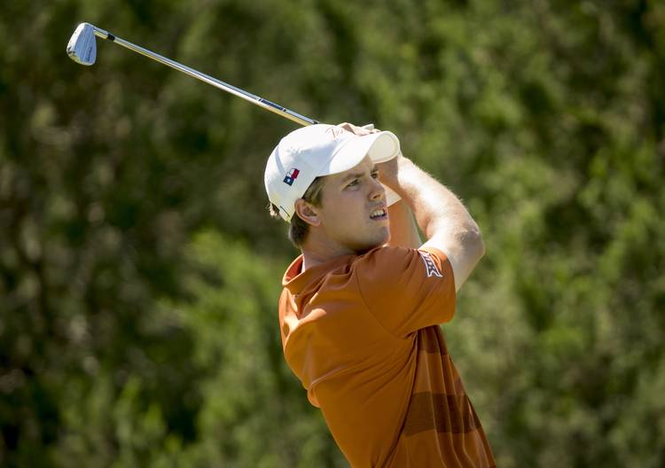 Texas men's golf team moves into fifth place at NCAA Championship
