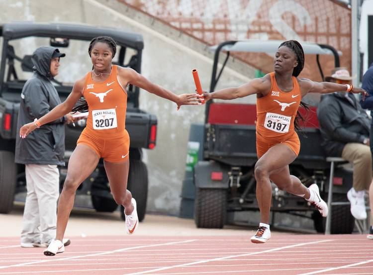Texas track and field earns more wins and a school record