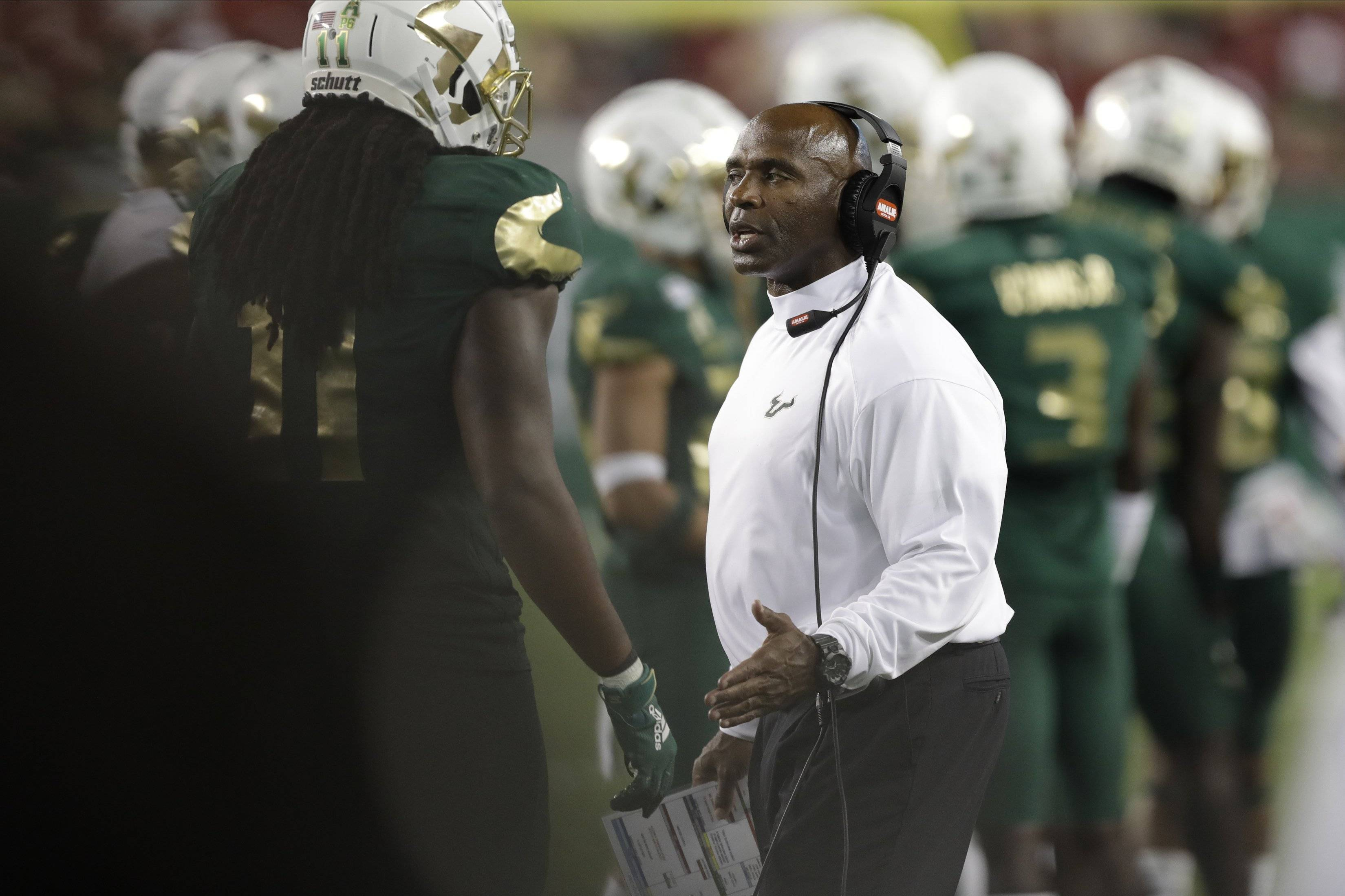 Former Texas coach Charlie Strong fired after three seasons at South Florida