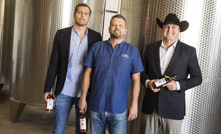 Former Longhorns hope to make their Nine Banded Whiskey a local