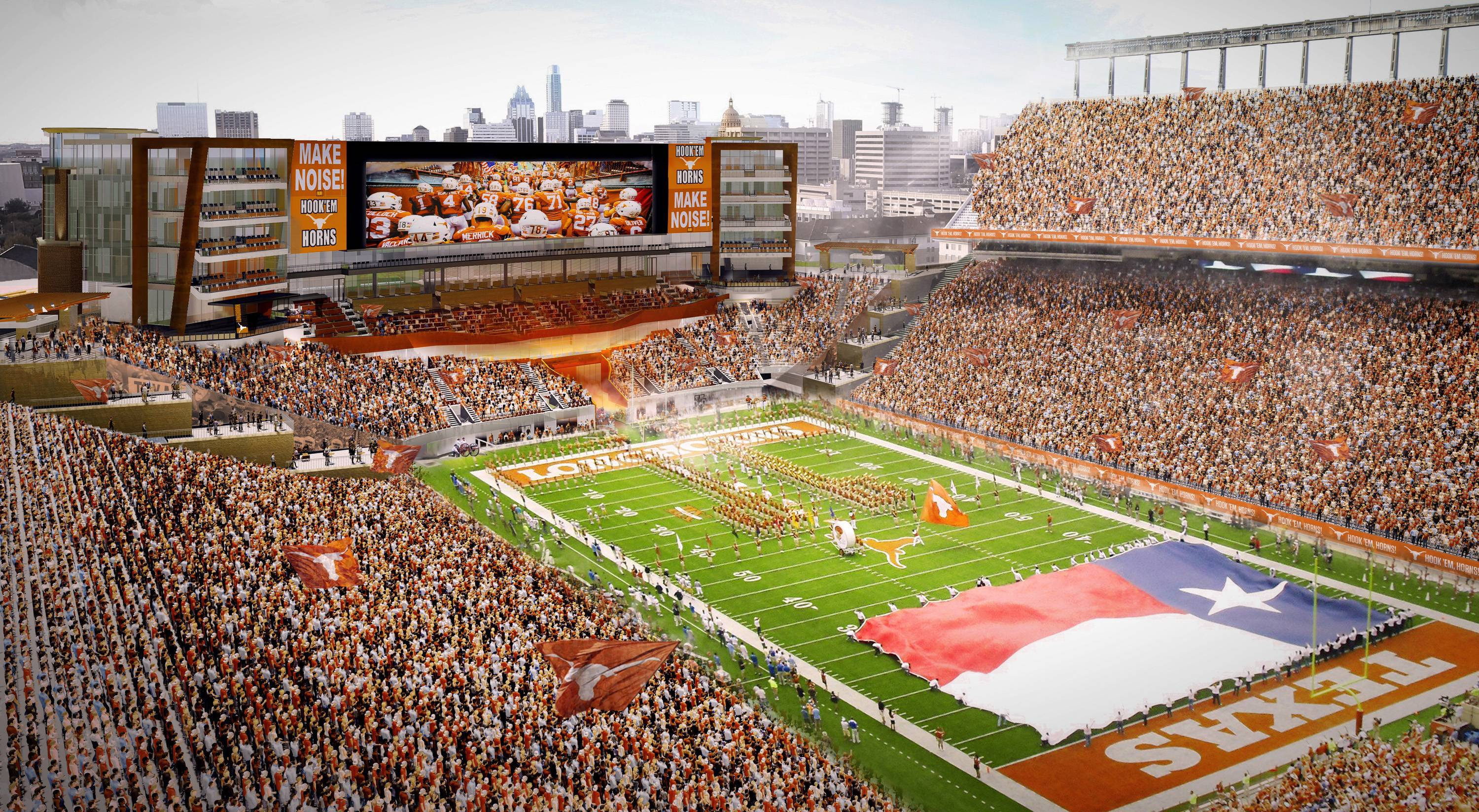 Size matters: The building boom continues for bigger, better Big 12