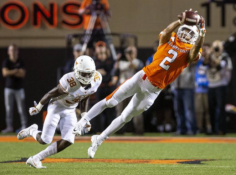 Triplets Of The Big 12 Oklahoma State S Offense Should