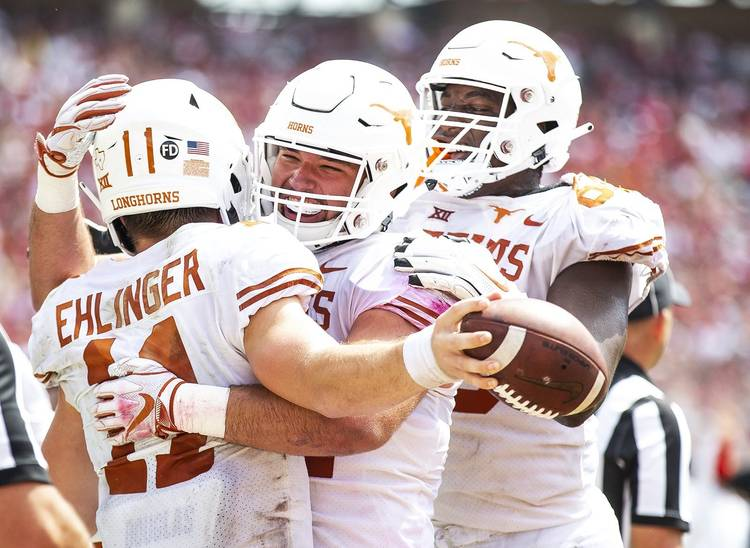 A Red River shootout once again: No  19 Texas holds off No