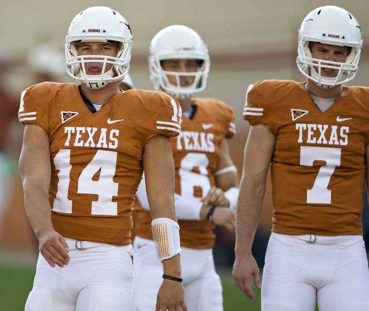 David Ash To Join Ex Texas Qb Garrett Gilbert At Carolina Minicamp Hookem Com